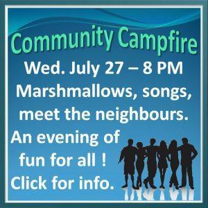 Community Campfire 2016 July 27
