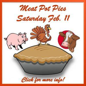 Meat Pot Pies February 2017