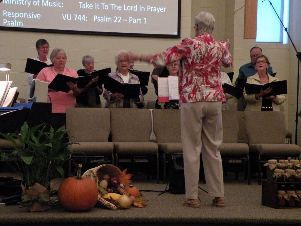 Choir Thanksgiving 2015