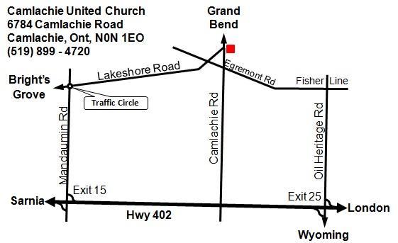 Church Line Map