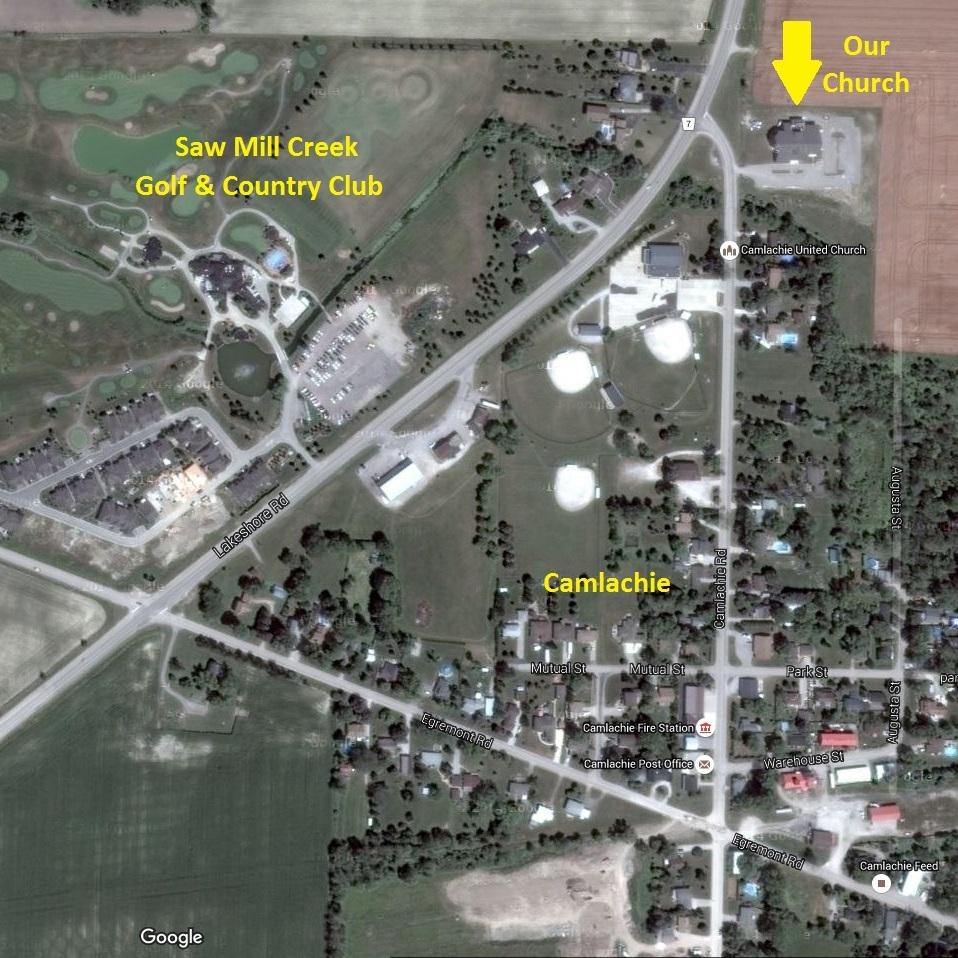 Church Satelite Map